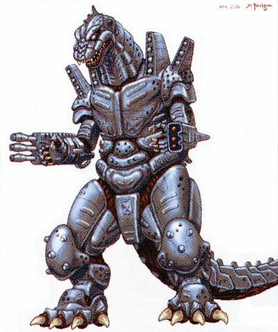 File:Concept Art - Godzilla Against MechaGodzilla - Kiryu 7.png