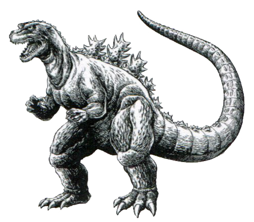 File:Concept Art - Godzilla vs. Destoroyah - Godzilla Junior 9.png
