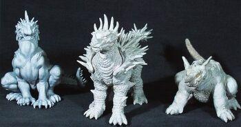 Anguirus Concept Art Godzilla X Vara...