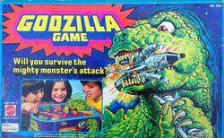 Godzilla game mattel