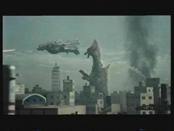 File:MechaGodzilla Flies With Titanosaurus Around.jpg