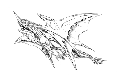 File:Concept Art - Rebirth of Mothra 2 - Dagahra 18.png