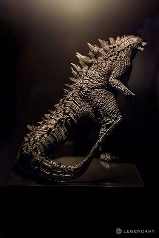 File:Godzilla 2014 Final Design Maquette from Legendary Booth SDCC 2014.jpg
