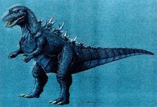 File:Concept Art - Godzilla vs. Destoroyah - Godzilla Junior 15.png