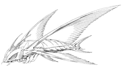 File:Concept Art - Rebirth of Mothra 2 - Aqua Mothra 3.png