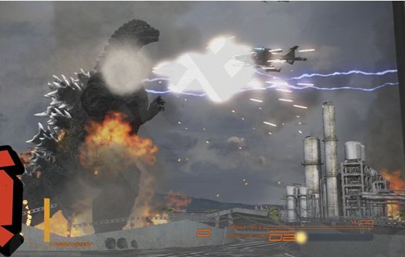 File:Godzilla VS Maser Tanks Now With Jetplanes !.png