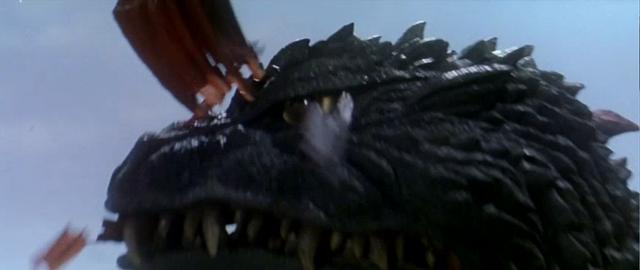 File:Godzilla vs. Megaguirus - Godzilla eats Megaguirus' stinger.png