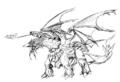 Concept Art - Rebirth of Mothra - Desghidorah 15