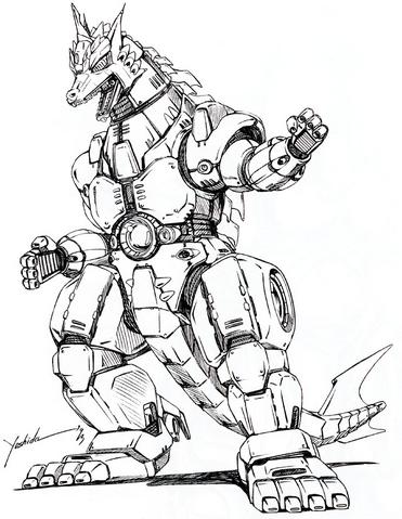 File:Concept Art - Godzilla vs. MechaGodzilla 2 - MechaGodzilla 6.png