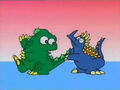 Godzilland- Anguirus and Lil G's Tail