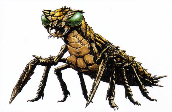 Image - Concept Art - Godzilla vs. Megaguirus - Meganulon ...