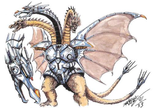File:Concept Art - Godzilla vs. King Ghidorah - Mecha-King Ghidorah 2.png