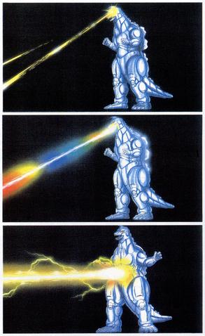 File:Concept Art - Godzilla vs. MechaGodzilla 2 - MechaGodzilla Beams 1.png