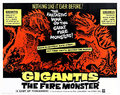 Gigantis The Fire Monster Poster C