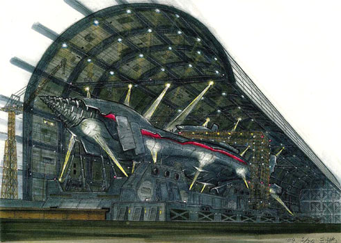 File:Concept Art - Godzilla Final Wars - Gotengo Docking Bay 3.png