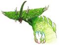 Concept Art - Godzilla vs. Biollante - Biollante Head 4