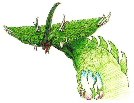 File:Concept Art - Godzilla vs. Biollante - Biollante Head 4.png