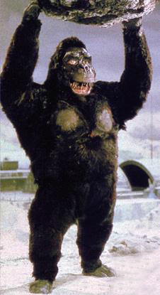 The GoroKongu as it is seen in King Kong Escapes
