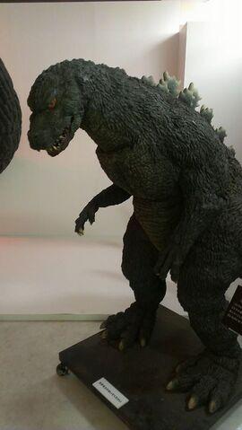 File:Great Godzilla 60 Years Special Effects Exhibition photo by Joseph Ruleau - Godzilla Junior 1.jpg