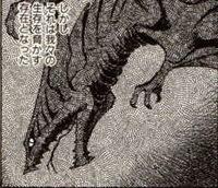 Gamera vs. Barugon Manga - Gyaos
