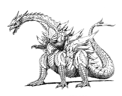 File:Concept Art - Rebirth of Mothra - Desghidorah 19.png