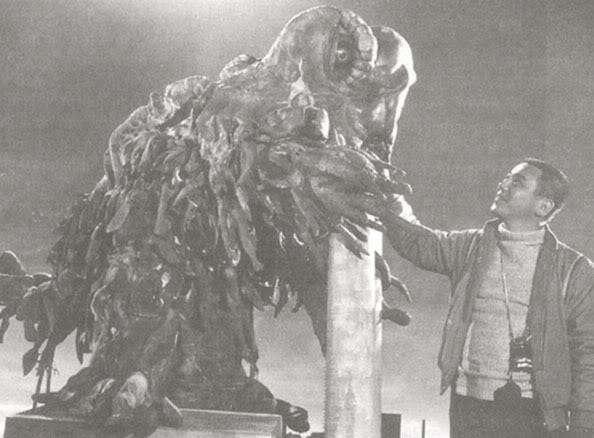 File:Smog Moster Production Shot 3 with Yoshimitsu Banno.jpg