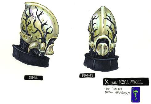 File:Concept Art - Godzilla Final Wars - True Xilien 2.png