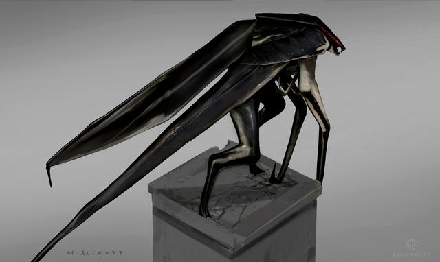 File:Concept Art - Godzilla 2014 - Winged MUTO 6.png