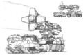 Concept Art - Godzilla vs. Mothra - MBAW-93 1