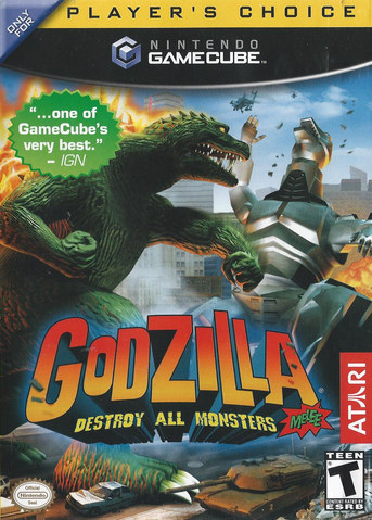 File:Godzilla Destroy All Monsters Melee Front Cover.png