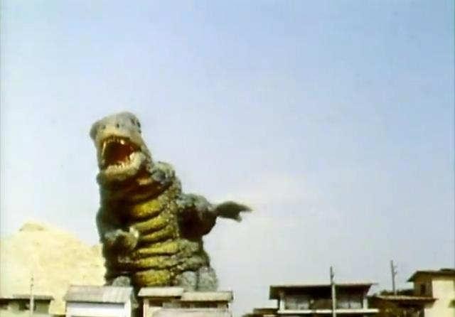 File:Go! Godman - Episode 6 Godman vs. Gorosaurus - 4 - Fear me!.png