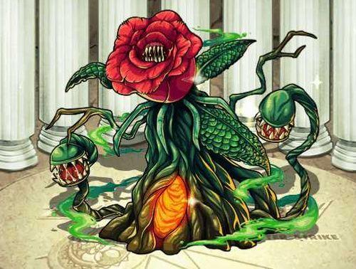 File:Godzilla X Monster Strike - Biollante Rose.jpg