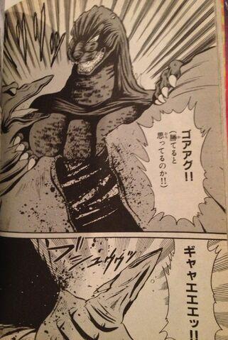 File:Godzilla rips off Rodan's Wings.JPG