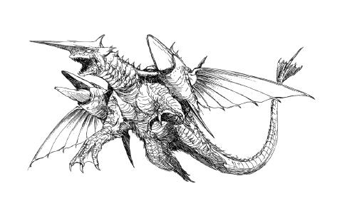 File:Concept Art - Rebirth of Mothra 2 - Dagahra 11.png
