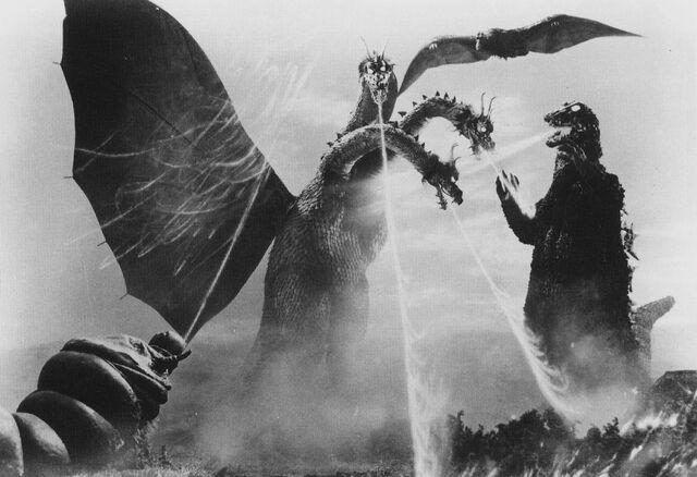 File:GT3HM - Godzilla, Rodan and Mothra vs. King Ghidorah Artwork.jpg