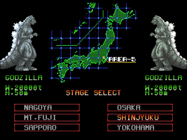 File:Godzilla Arcade Game - Stage Selection.png