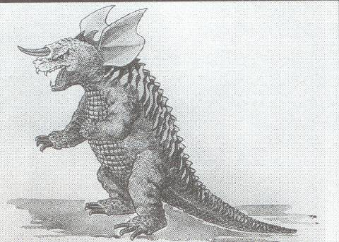 File:Concept Art - Frankenstein vs. Baragon - Baragon 1.png