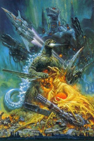 File:Godzilla vs. MechaGodzilla 2 Poster Textless.jpg