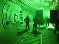 Godzilla 2014 What's Behind the Radioactive Door