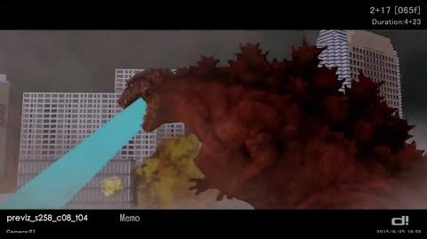 Shin Godzilla Previsualization Effects - Special Features