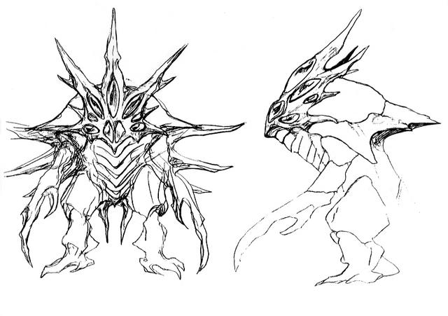 File:Concept Art - Godzilla 2000 Millennium - Orga 35.png