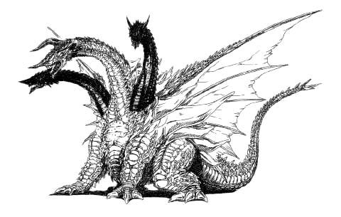 File:Concept Art - Rebirth of Mothra - Desghidorah 18.png