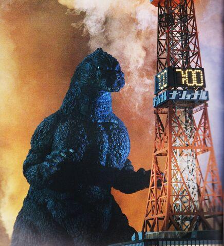 File:Godzilla vs. Sapporo Tower.jpg