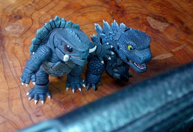 File:Cute Godzilla and Cute Gamera.jpg