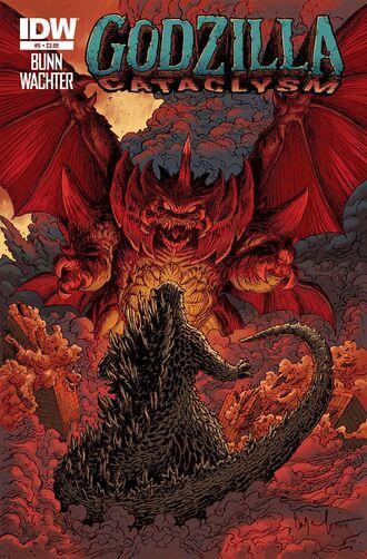 Godzilla Cataclysm Issue 5 CVR A