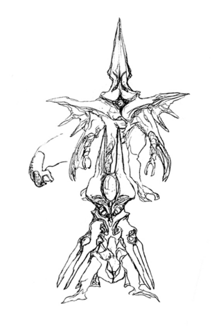 File:Concept Art - Godzilla 2000 Millennium - Orga 63.png
