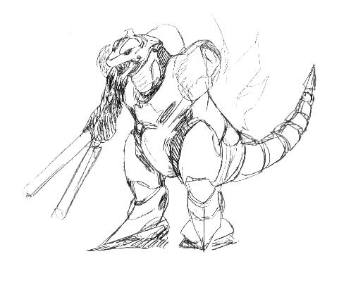 File:Concept Art - Godzilla Against MechaGodzilla - Kiryu 27.png