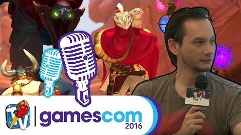 Gamescom 2016 Gigantic - Interview Budi im Gespräch mit James Phinney 17.08.2016