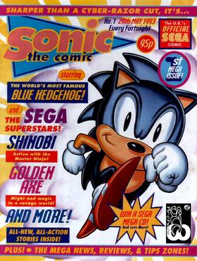 Sonic the Comic 1