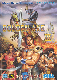 Golden Axe III Coverart